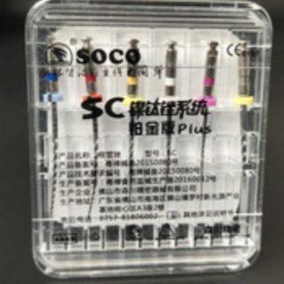 soco 3 foto 320x320 - Эндофайлы с контроль-памятью формы металла, набор 6 файлов. SOCO SC Plus